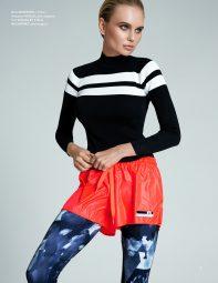 Elena Matei modeling clothing