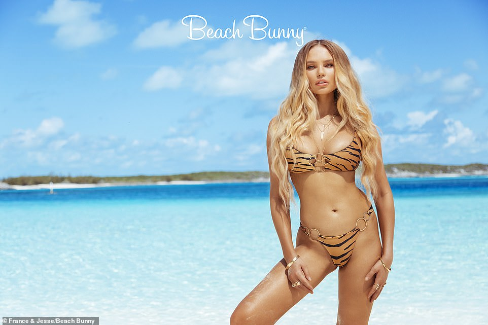Elena Matei in a bikini